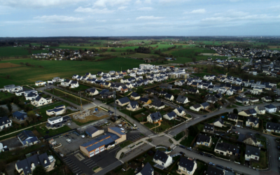 photo aérienne drone rennes