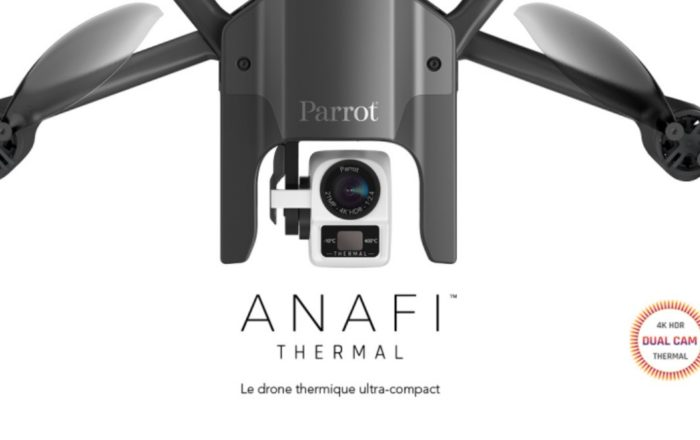 Drone Anafi thermal